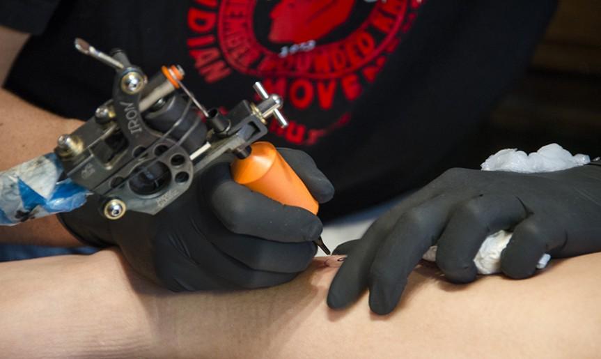 José Calero, tatuador