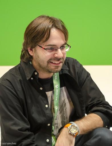 Álvaro Reina, locutor